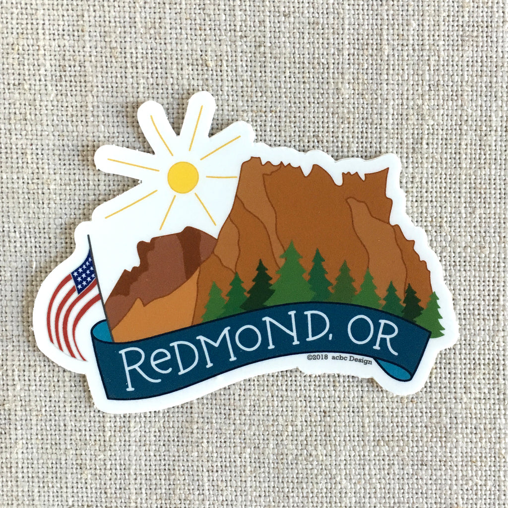 Redmond Oregon Sticker