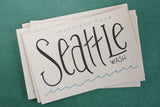 Greetings from Seattle Postcards / Set of 6