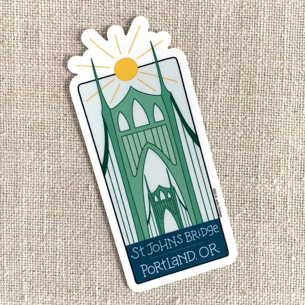 St Johns Bridge Sticker