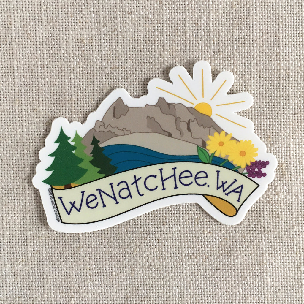 Wenatchee Washington Sticker