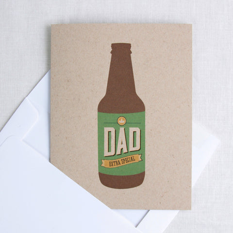 Extra Special Dad Beer Card