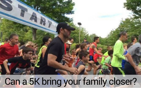 Can a 5k bring your family closer?