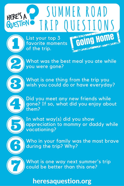Coming home questions