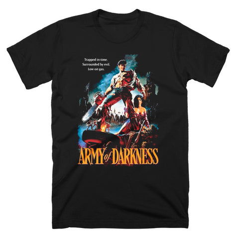 Army Of Darkness Trapped In Time T-Shirt - TerrorThreads