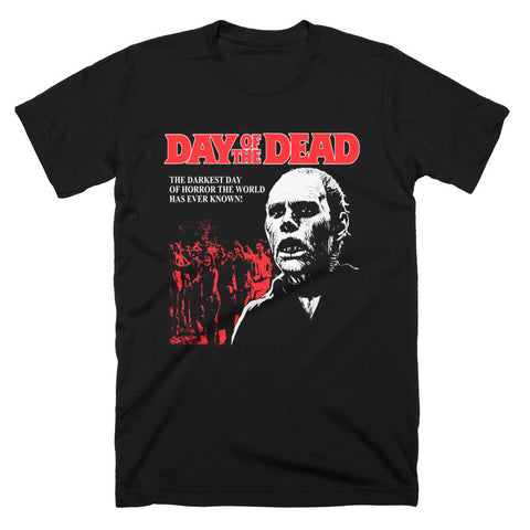 Day Of The Dead Darkest Day Of Horror T-Shirt - TerrorThreads