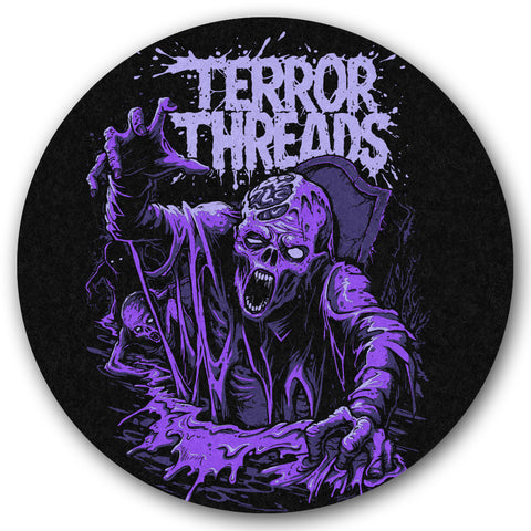 Grave Escape Turntable Slipmat - TerrorThreads