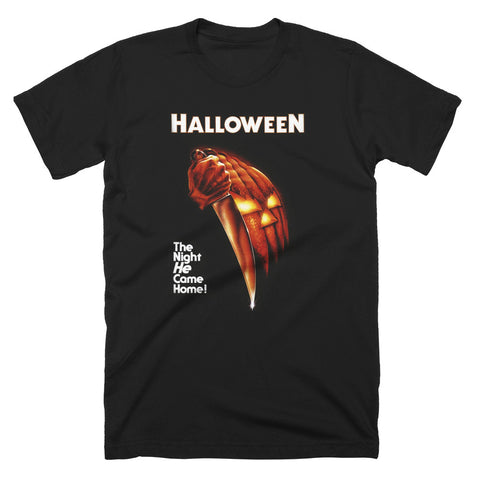 Halloween The Night He Came Home T-Shirt - TerrorThreads