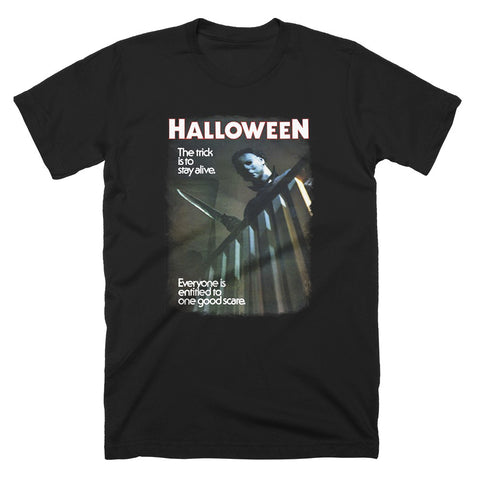 Halloween One Good Scare T-Shirt - TerrorThreads
