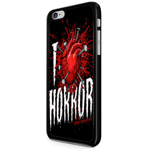 I Love Horror Phone Case - TerrorThreads - 1