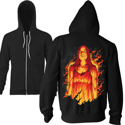 Limited Edition Last Laugh Zip Hoodie - TerrorThreads