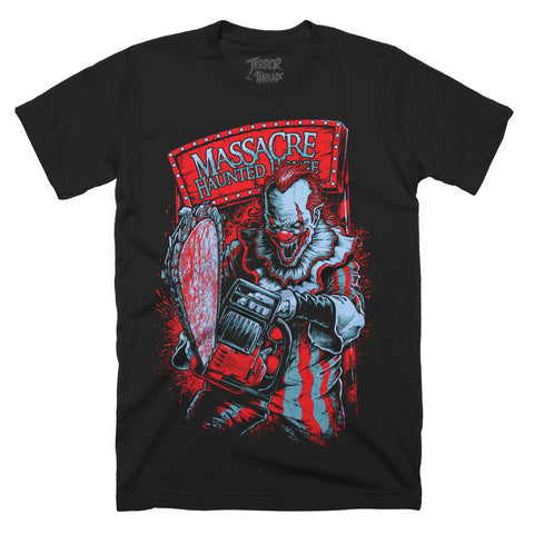 Massacre Killer Clown T-Shirt - TerrorThreads - 1