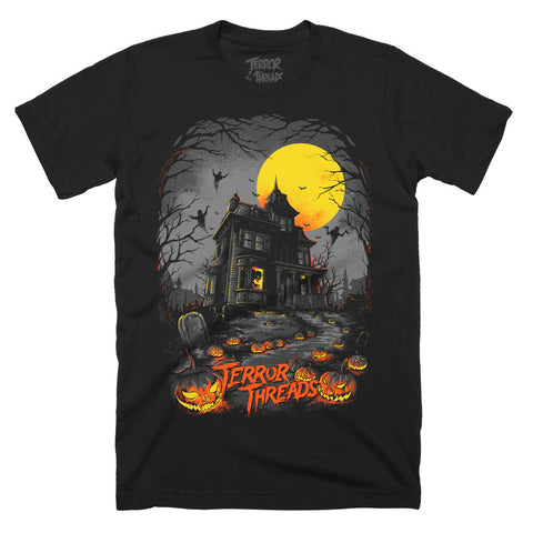 The Menacing Manor T-Shirt - TerrorThreads - 1
