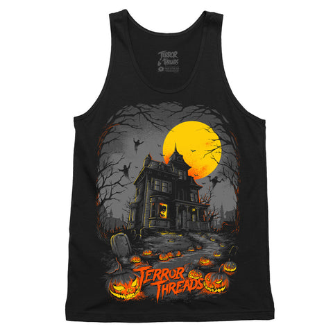 The Menacing Manor Tank Top - TerrorThreads