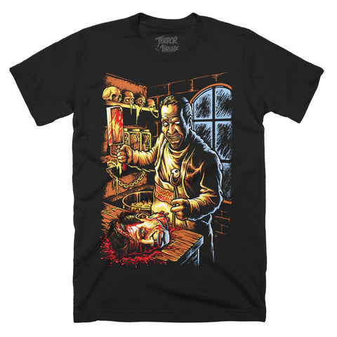 Midnight Chop Shop T-Shirt - TerrorThreads - 1