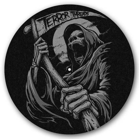 Night Reaper Turntable Slipmat - TerrorThreads
