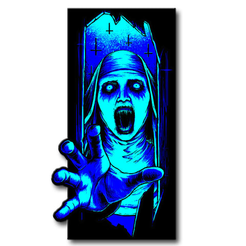 Limited Edition Night Of The Nun Enamel Pin - TerrorThreads - 1