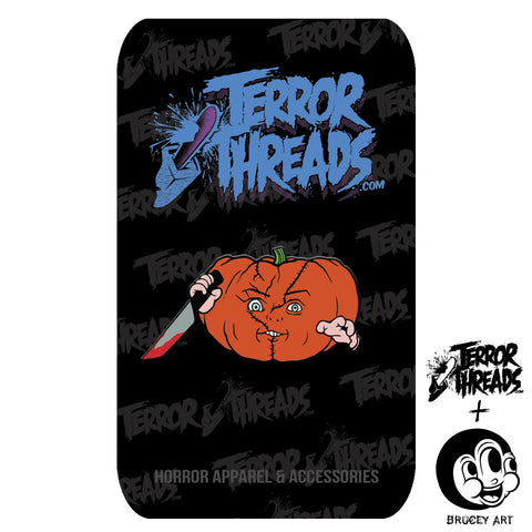 Limited Edition PumpKill Patch Chuck Pin - TerrorThreads
