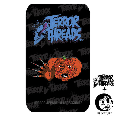 Limited Edition PumpKill Patch Fred Pin - TerrorThreads
