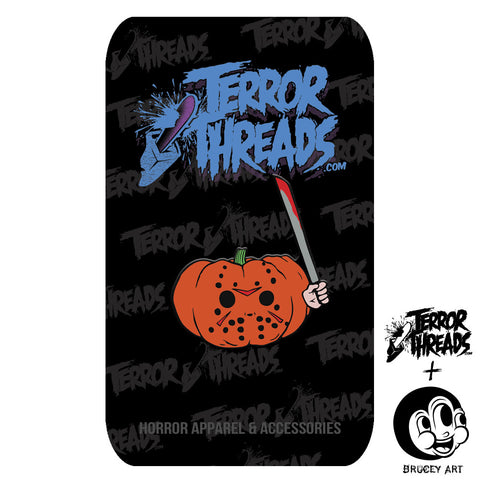 Limited Edition PumpKill Patch Jay Enamel Pin - TerrorThreads - 1