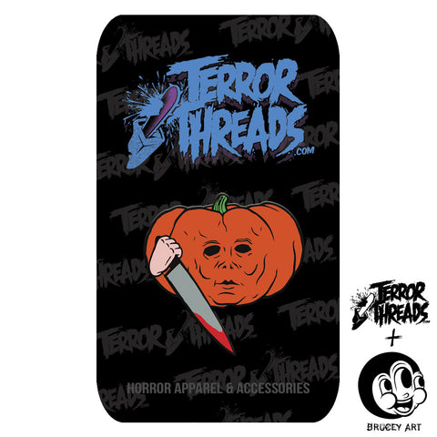 Limited Edition PumpKill Patch Mike Pin - TerrorThreads - 1