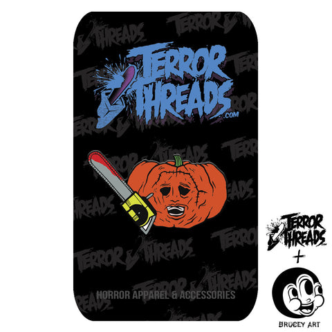 Limited Edition PumpKill Patch Thomas Enamel Pin - TerrorThreads - 1