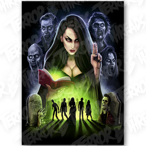 Queen Of The Dead Poster Print