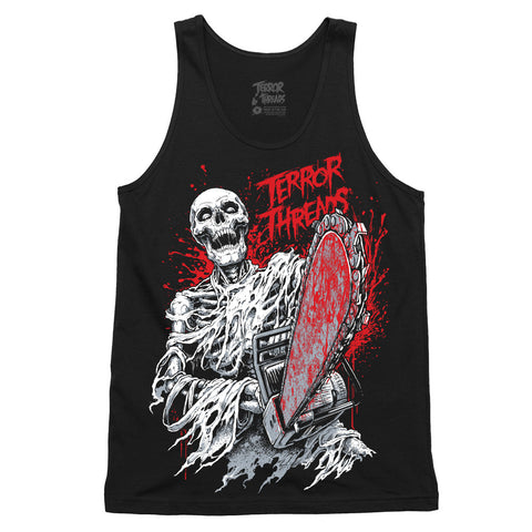 Sin and Bones Tank Top - TerrorThreads
