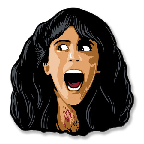 Sleepaway Camp Queen Angela Enamel Pin