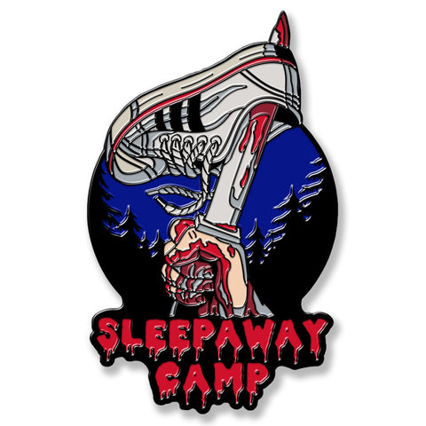 Sleepaway Camp Blood Shed Enamel Pin