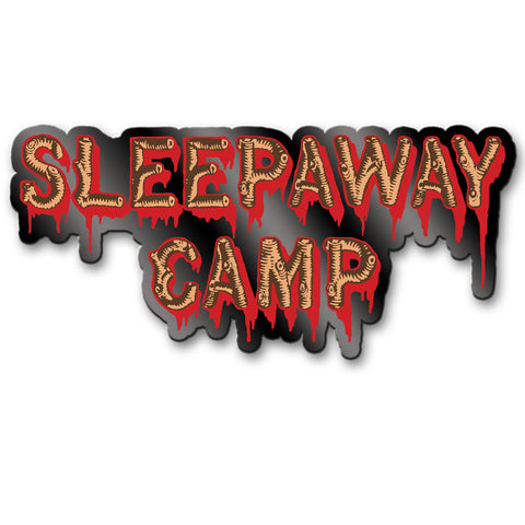 Sleepaway Camp Logo Enamel Pin