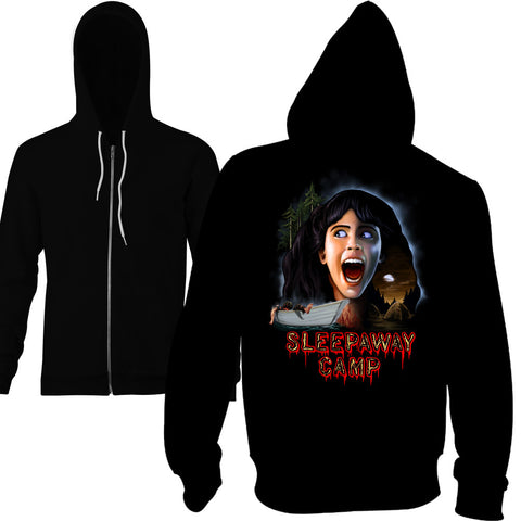Sleepaway Camp Slaughtering Ground Zip Hoodie