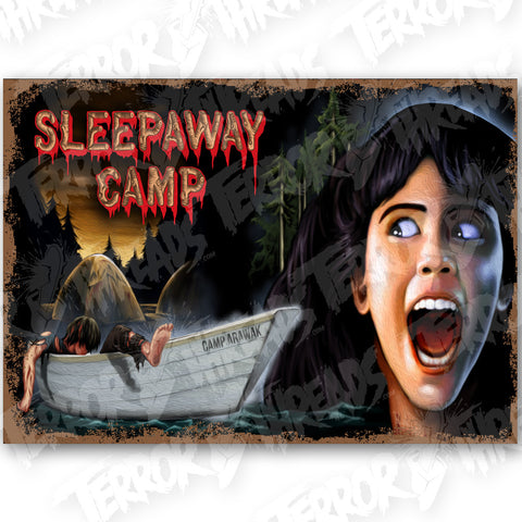 Sleepaway Camp Slaughtering Ground Poster Print