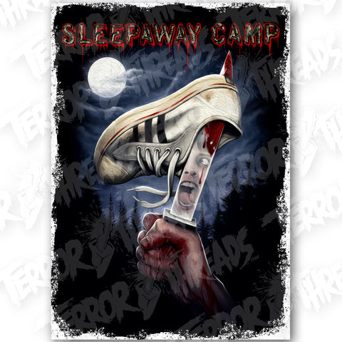 Sleepaway Camp You Won't Be Coming Home Poster Print