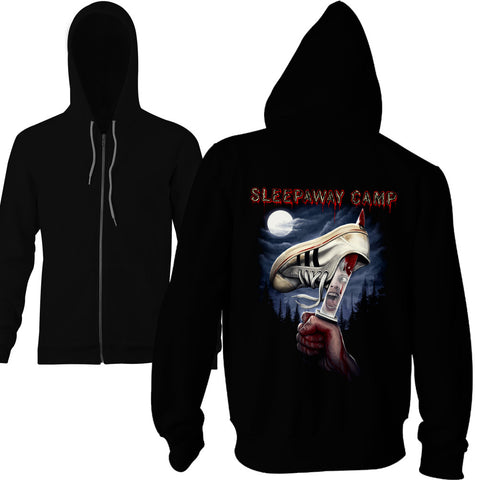 Sleepaway Camp You Won't Be Coming Home Zip Hoodie