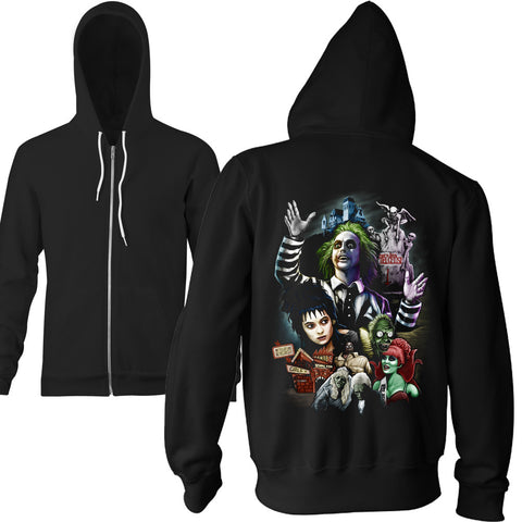 Limited Edition Strange and Unusual Zip Hoodie