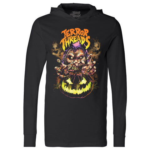 25c63b78415 SOLD OUT The Witching Hour Long Sleeve Hooded Tee