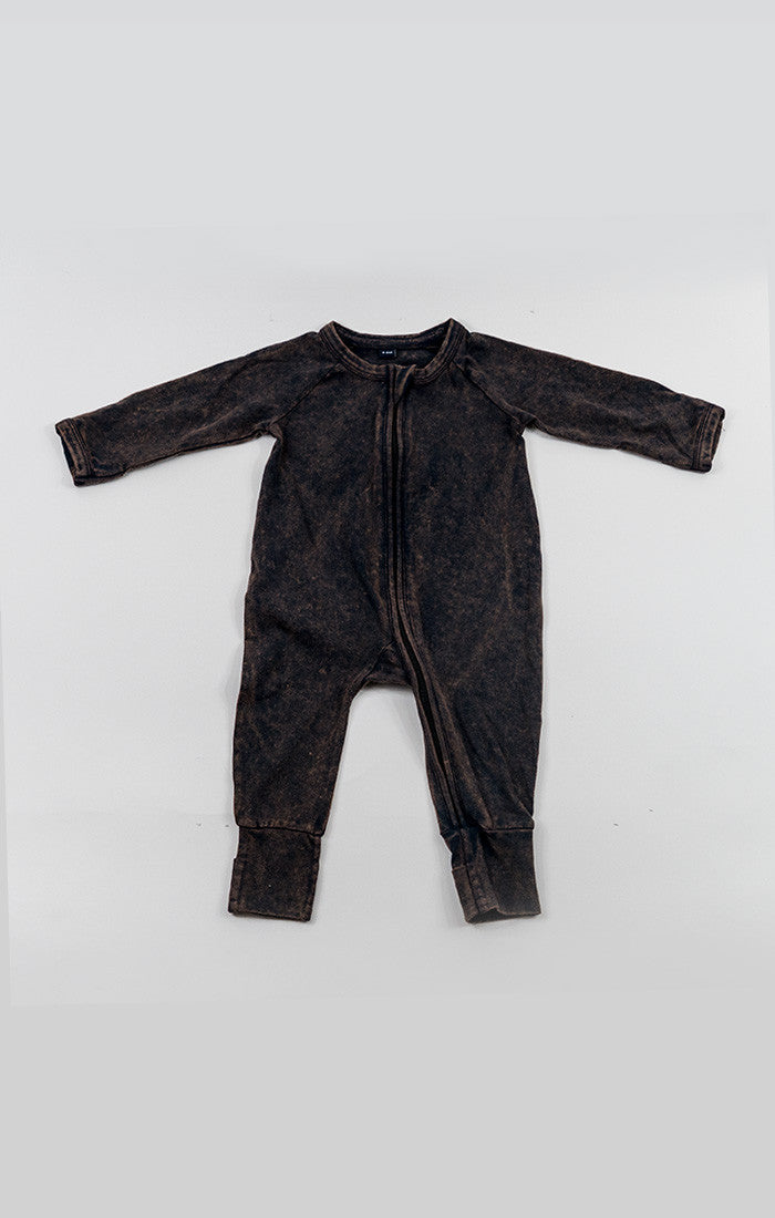 Baby Romper - Acid Wash