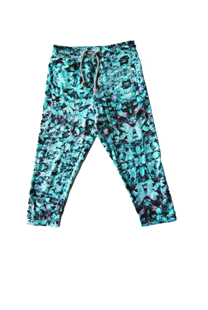 drop-crotch legging- Field Mint