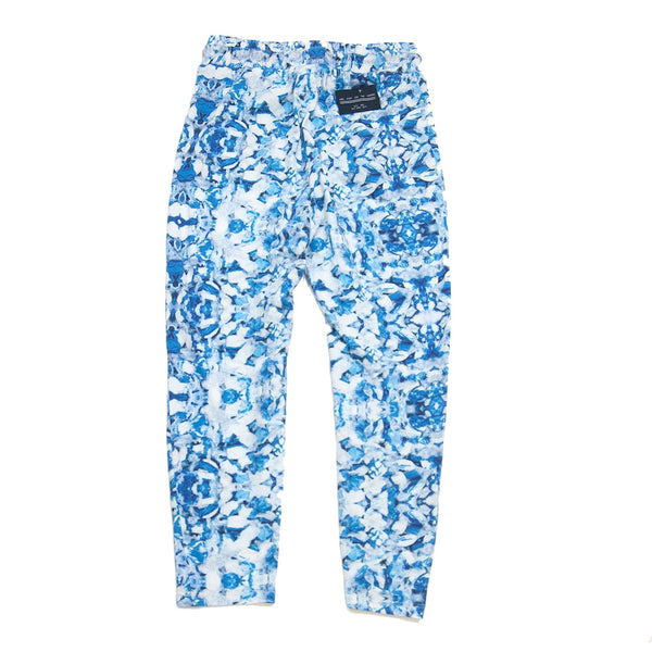drop-crotch legging- Taffy Blue