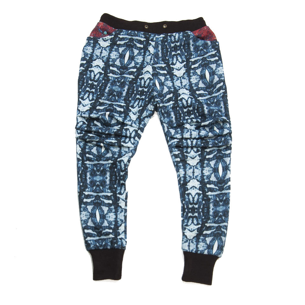 Drop-Crotch Sweatpant - Aspen Navy