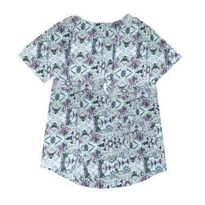 tshirt- Leaf Mint