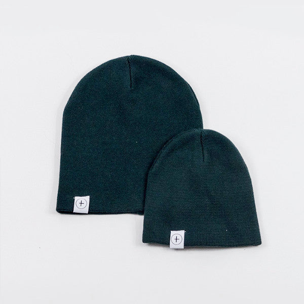 Knit Beanie - Forest