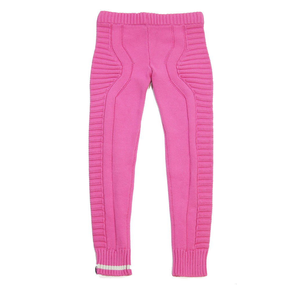 knit legging- Pink