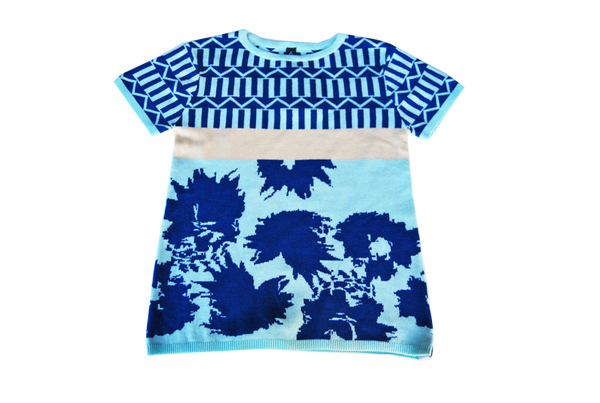 knit tshirt- Royal Mint
