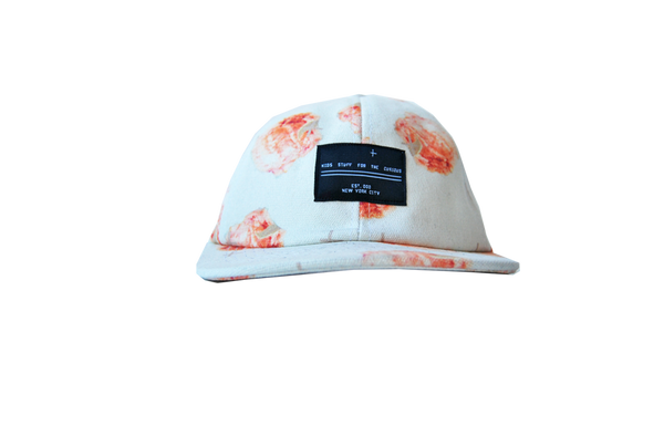 6 panel hat- Guava Peach