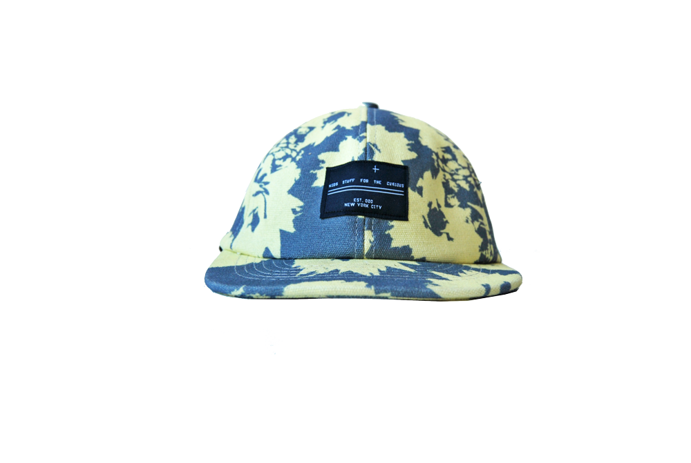 6 panel hat- Pineapple Sun