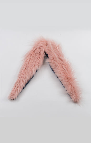 Faux Fur Collar - Pink