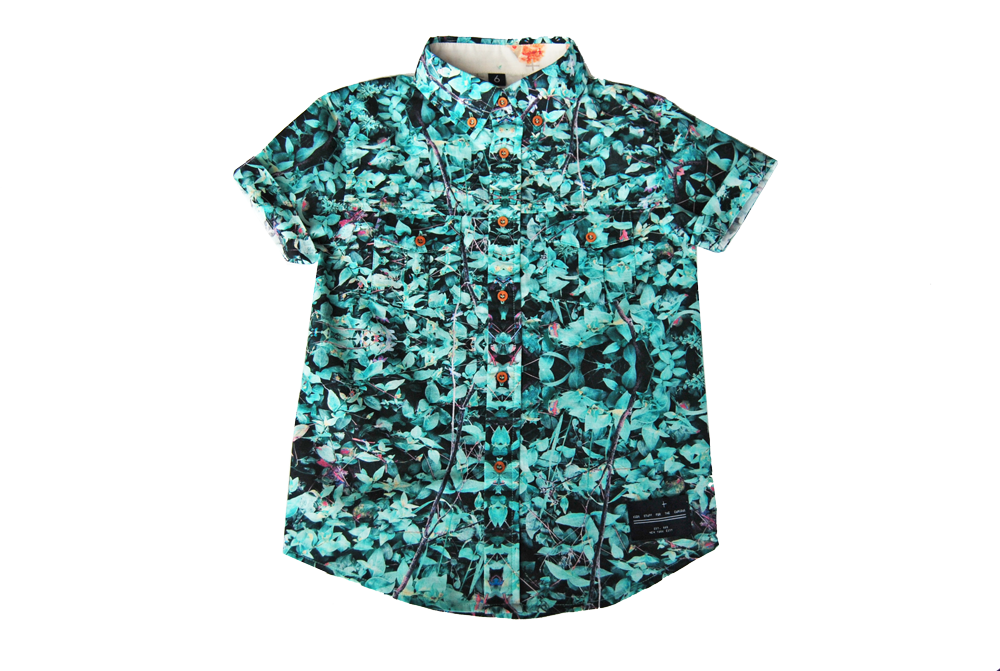 button down-Field Mint