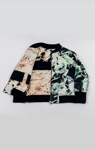 2-Way Bomber Jacket - Fungi Emerald