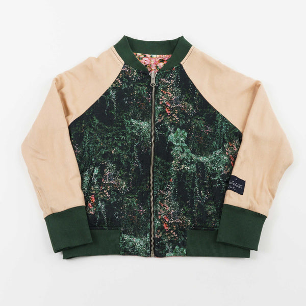 2-WAY BOMBER JACKET - JANGAL FOREST
